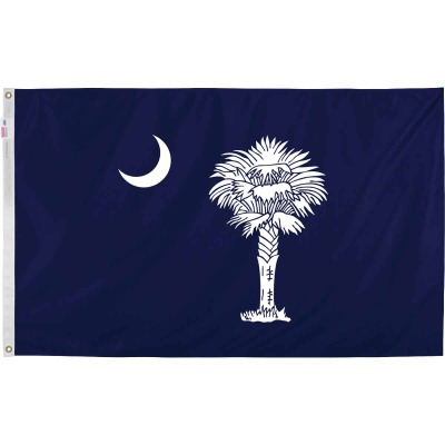 Valley Forge 3 Ft. x 5 Ft. Nylon South Carolina State Flag
