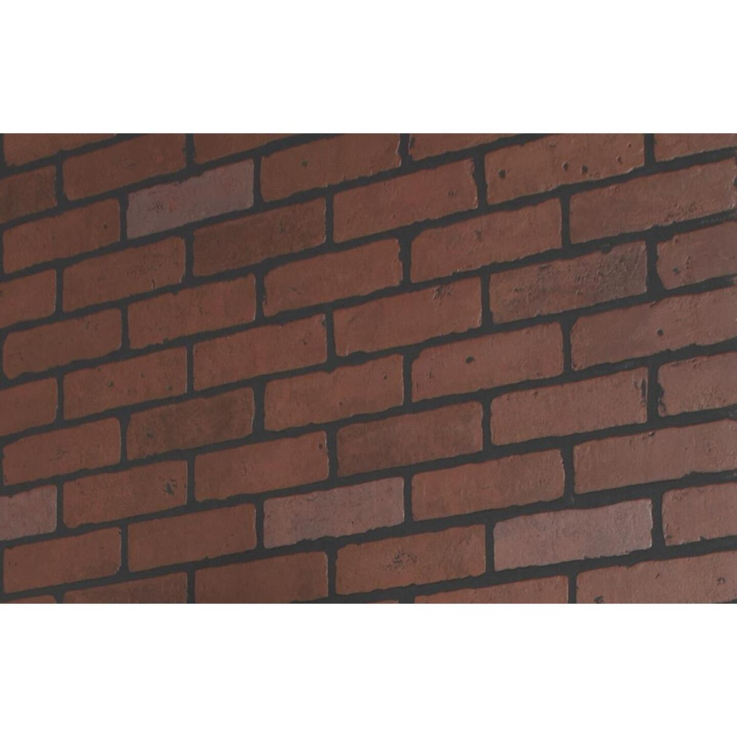DPI 4 Ft. x 8 Ft. x 1/4 In. Red Brick Gaslight II Wall Paneling Image 2