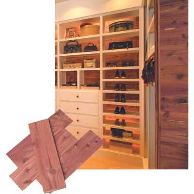 CedarSafe 3-3/4 In. x 1/4 In. (Random Lengths) Eastern Red Cedar Plank