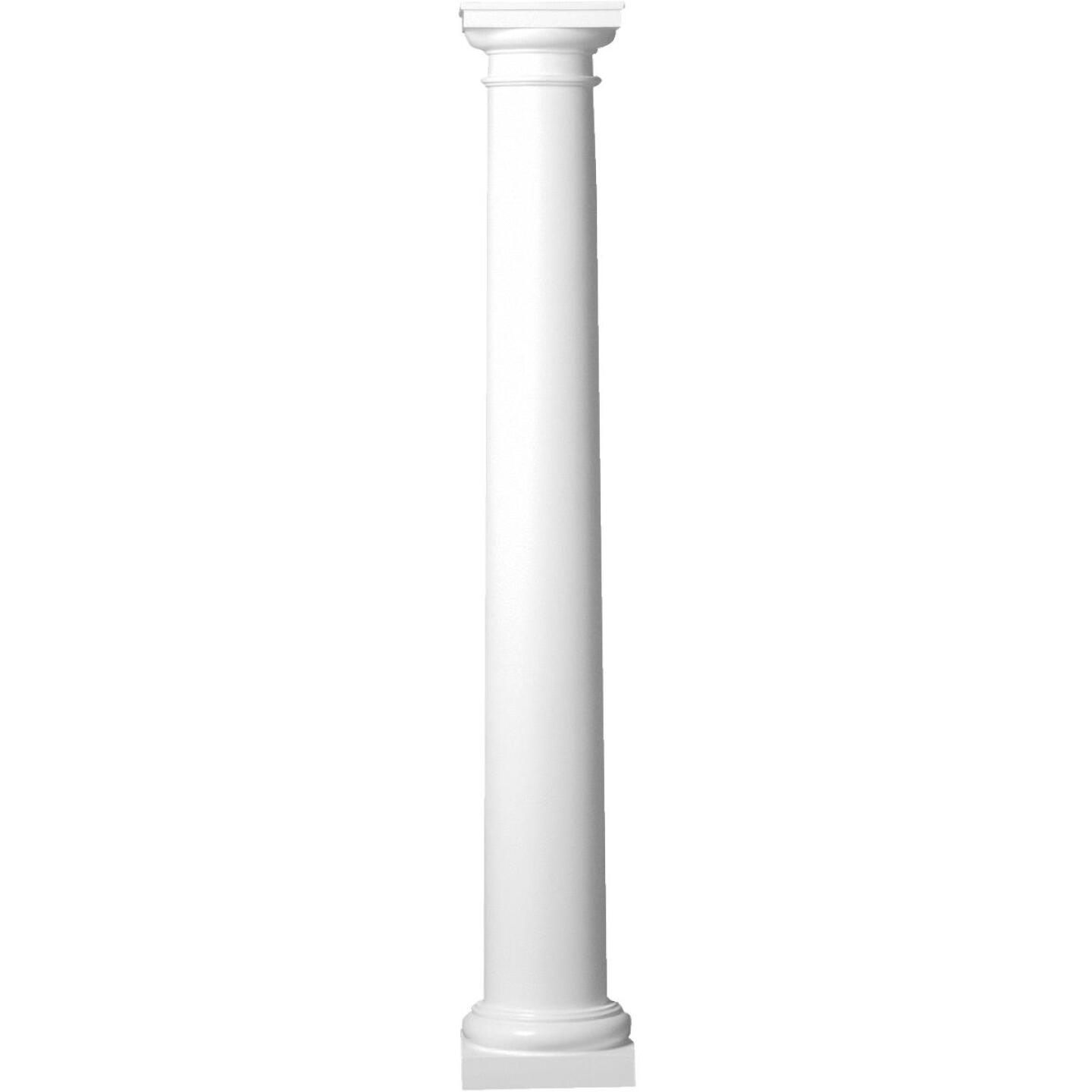 Crown Column 8 In. x 10 Ft. Unfinished Round Fiberglass Column Image 1