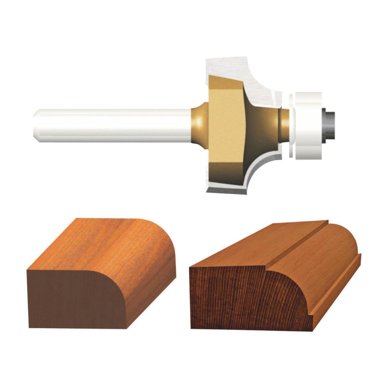 Vermont American Carbide Tip 3/16 In. Roundover Bit Image 1