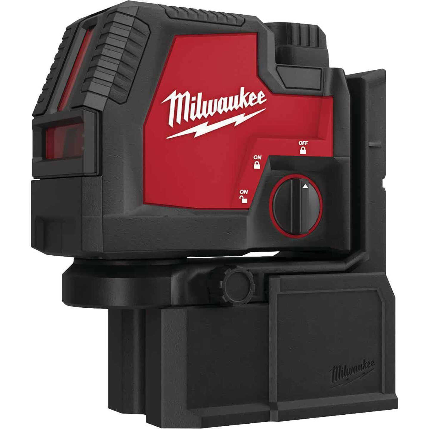 Milwaukee USB Rechargeable Green Cross Line & Plumb Points Laser Image 5