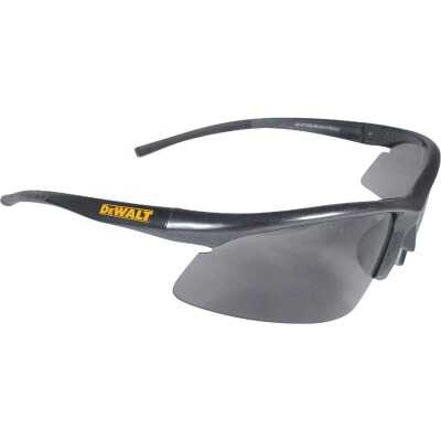 DeWalt Radius Black/Yellow Frame Safety Glasses with Smoke Lenses