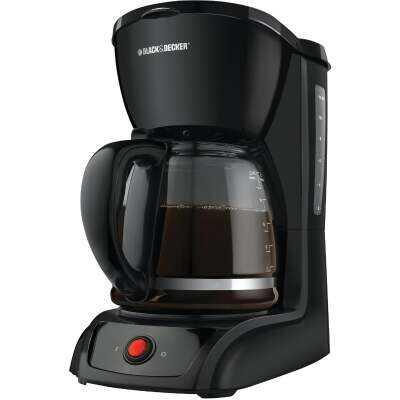 Black & Decker 12 Cup Black Coffee Maker