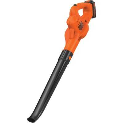 Black & Decker 130 MPH 20V MAX Lithium-Ion Cordless Blower