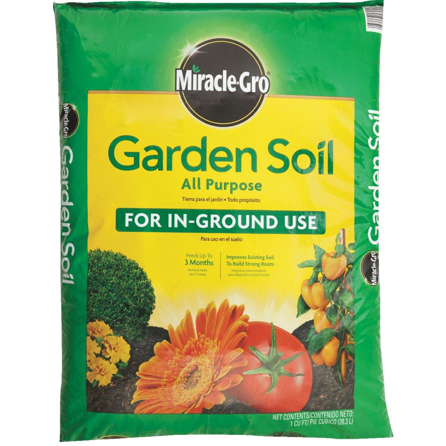 Miracle-Gro 1 Cu. Ft. 36 Lb. All Purpose Garden Soil Image 2