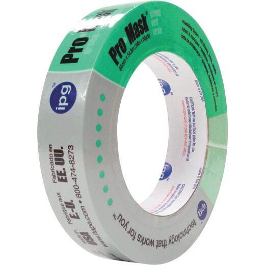 IPG ProMask Green 0.94 In. x 60 Yd. Professional Green Painter's Grade Masking Tape