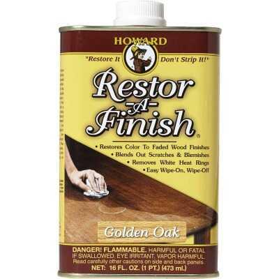 Howard Restor-A-Finish 16 Oz. Golden Oak Wood Finish Restorer