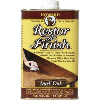 Howard Restor-A-Finish 16 Oz. Dark Oak Wood Finish Restorer