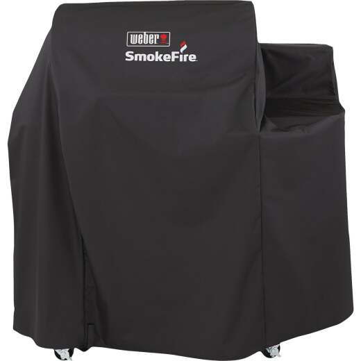 Weber SmokeFire 59 In. Polyester Grill Cover