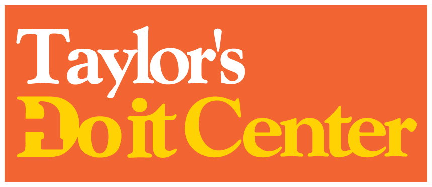Taylors Do it Center